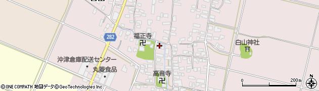 山形県寒河江市日田515周辺の地図
