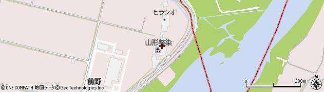 山形県寒河江市日田1927周辺の地図