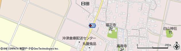 山形県寒河江市日田弓貝22周辺の地図