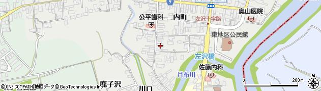 山形県西村山郡大江町左沢468周辺の地図