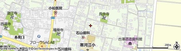 山形県寒河江市丸内2丁目周辺の地図