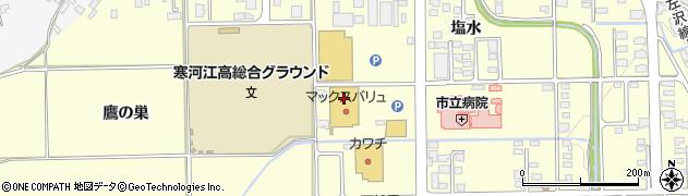 山形県寒河江市寒河江塩水69周辺の地図