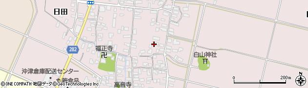 山形県寒河江市日田344周辺の地図