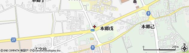 山形県西村山郡大江町本郷己312周辺の地図