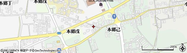 山形県西村山郡大江町本郷己310周辺の地図