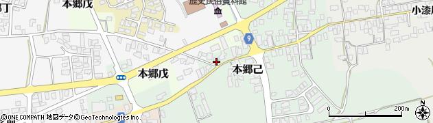 山形県西村山郡大江町本郷己84周辺の地図