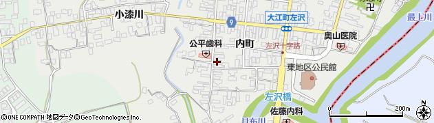 山形県西村山郡大江町左沢502周辺の地図