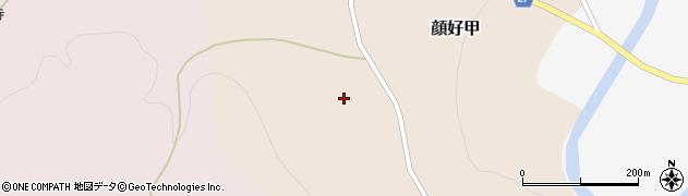 山形県西村山郡大江町顔好甲29周辺の地図