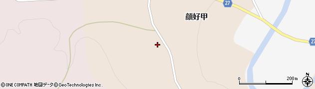 山形県西村山郡大江町顔好甲28周辺の地図