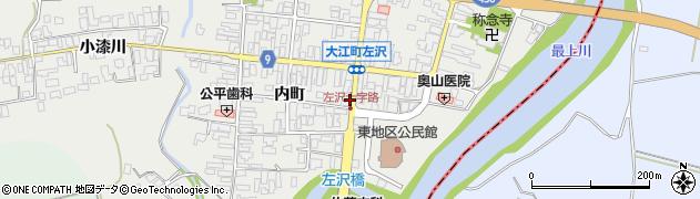 山形県西村山郡大江町左沢366周辺の地図