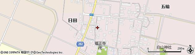 山形県寒河江市日田後田450周辺の地図
