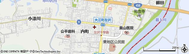 山形県西村山郡大江町左沢360周辺の地図