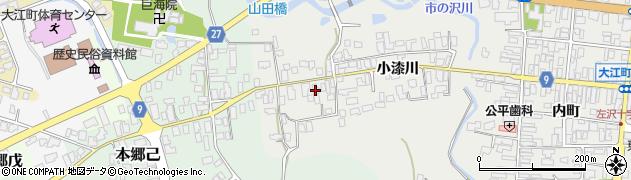 山形県西村山郡大江町左沢663周辺の地図
