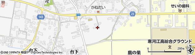 山形県寒河江市柴橋3383周辺の地図