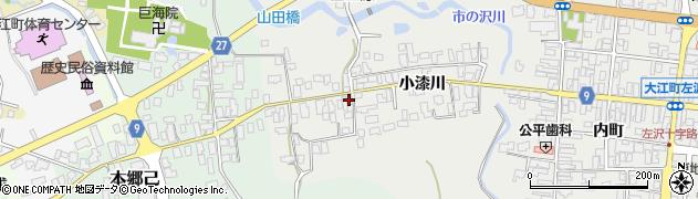 山形県西村山郡大江町左沢695周辺の地図