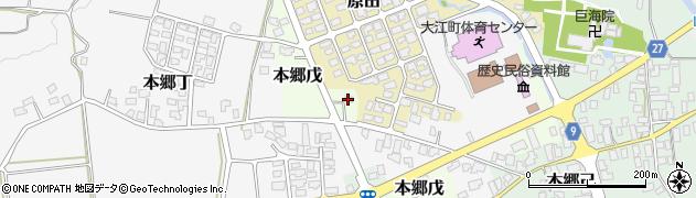 山形県西村山郡大江町本郷戊245周辺の地図