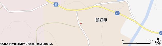 山形県西村山郡大江町顔好甲67周辺の地図