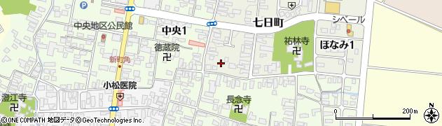 山形県寒河江市七日町1周辺の地図