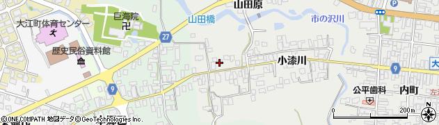 山形県西村山郡大江町左沢689周辺の地図