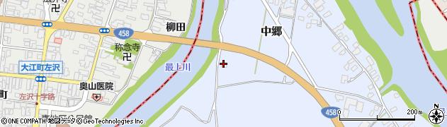 山形県寒河江市中郷1740周辺の地図