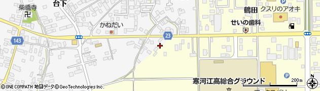山形県寒河江市寒河江鷹の巣1周辺の地図