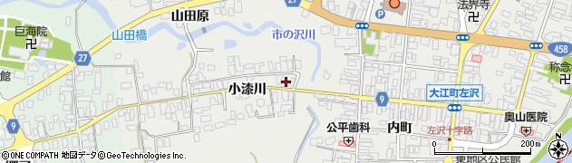 山形県西村山郡大江町左沢611周辺の地図