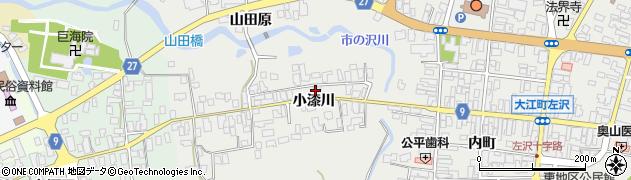山形県西村山郡大江町左沢618周辺の地図
