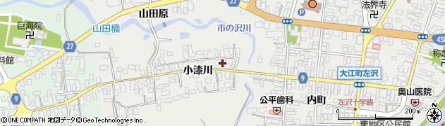 山形県西村山郡大江町左沢612周辺の地図