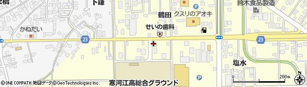 山形県寒河江市寒河江鷹の巣13周辺の地図