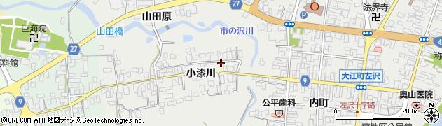 山形県西村山郡大江町左沢614周辺の地図