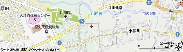 山形県西村山郡大江町本郷己2周辺の地図