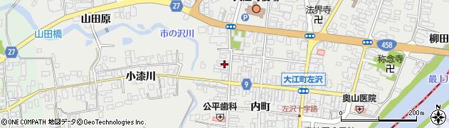 山形県西村山郡大江町左沢534周辺の地図