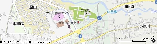 山形県西村山郡大江町本郷己47周辺の地図