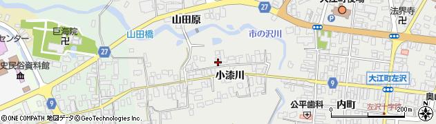 山形県西村山郡大江町左沢708周辺の地図
