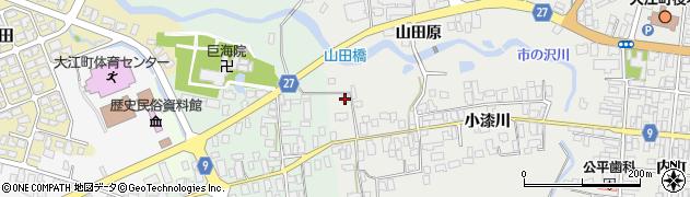 山形県西村山郡大江町左沢682周辺の地図