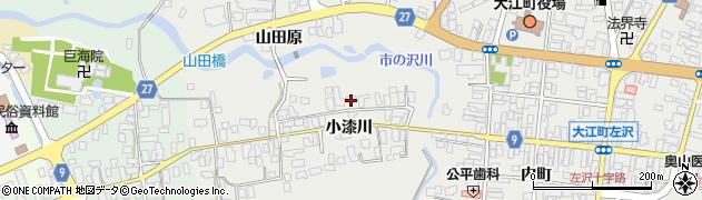 山形県西村山郡大江町左沢712周辺の地図