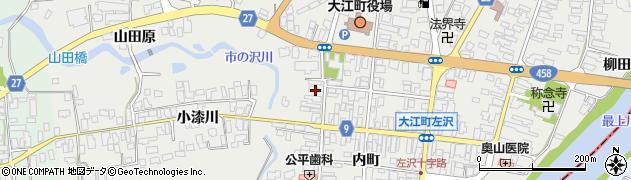 山形県西村山郡大江町左沢532周辺の地図