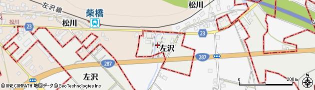 山形県西村山郡大江町左沢2095周辺の地図