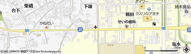山形県寒河江市柴橋1002周辺の地図