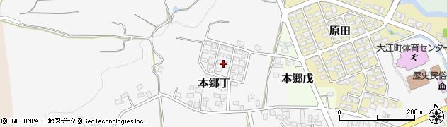 山形県西村山郡大江町本郷丁270周辺の地図