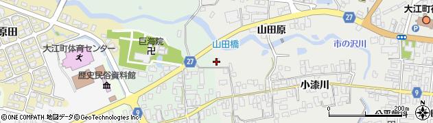 山形県西村山郡大江町左沢684周辺の地図
