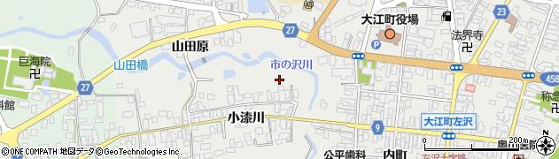山形県西村山郡大江町左沢718周辺の地図