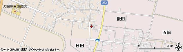 山形県寒河江市西根高畑84周辺の地図