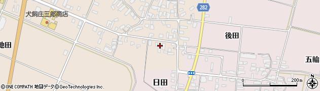 山形県寒河江市西根高畑81周辺の地図