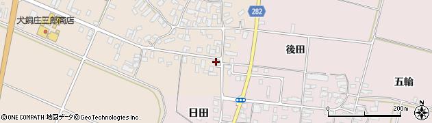 山形県寒河江市西根高畑129周辺の地図