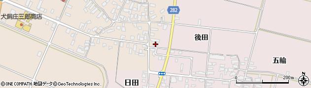 山形県寒河江市西根高畑121周辺の地図