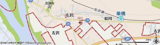 山形県寒河江市松川121周辺の地図