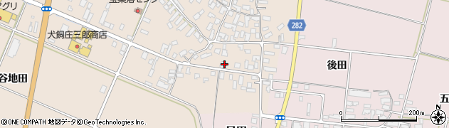 山形県寒河江市西根高畑1764周辺の地図