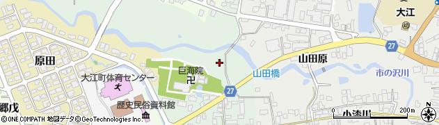 山形県西村山郡大江町本郷己5周辺の地図