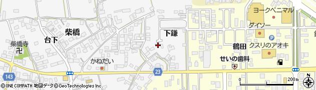 山形県寒河江市柴橋1106周辺の地図
